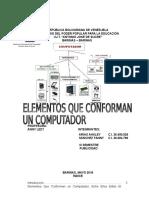 ELEMENTOS DE UN COMPUTADOR