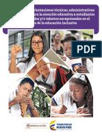 Documento Orientaciones Educacion Inclusiva