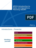 Apics Introduction to s Op Pdm