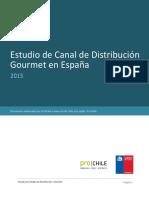 Estudio de Canal de Distribución Gourmet en España