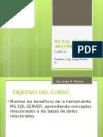 SQL IMPLEMENTACION 2014