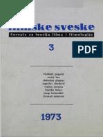 Filmske Sveske, Sv. 5, Br. 3_ Grada Za Ist - Unknown