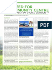 2016-05-09 The Need for a Community Centre for the Humber Bay Shores Community (May 2016)