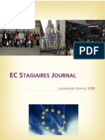 European Commission Stagiaire Journal - 2008