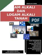 Alkali Dan Alkali Tanah
