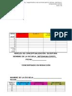 Formato Registros Español 15-16
