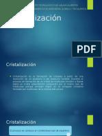CristalizaciónSubir