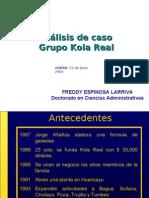 Freddy Espinosa Larriva Caso Kola Real