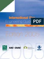Guidelines International Fire Engineering 2005