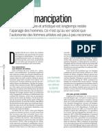 Ecrire l'Émancipation (Claire Blandin)