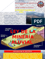 Ley de La Mineria Aluvial 3087
