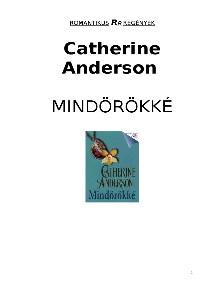 Mindorokke - Catherine Anderson 057ac32b3e