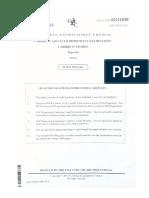 CAPE Caribbean Studies Paper 2 2015
