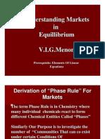 Understanding Markets in Equillibrium