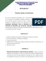 Acta de Telesocial Malambo Aprobacion de Tarifas