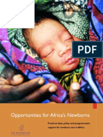 Opportunities for Africa's Newborns