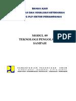 3. Modul 09 Teknologi Pengolahan Sampah