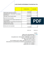 Diagrama de Gant Ex Téc. Act Económicas
