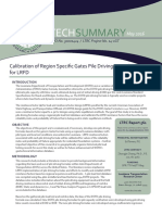 LTRC Technical Summary for Calibration of Region-Specific Gates Pile Driving Formula for LRFD