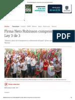 05-17-2016 Firma Neto Robinson Compromiso Con La Ley 3 de 3