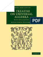 Whitehead - }Treatise on Universal Algebra