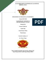 Major Project Report Reverse Braking System