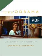 Melodrama by Jonathan Goldberg