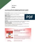 Análisis de Los Niveles de Los Productos Para Los Clientes PP