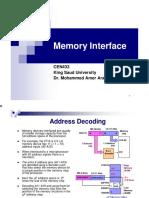 Part4 Memory Interface