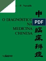 O Diagnostico Na Medicina Chinesa Auteroche Navailh 1