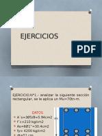 diseño unificado ejercicios