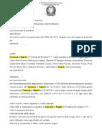TAR della Campania - Sentenza Progressioni Verticali