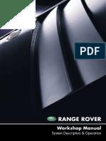 Range Rover 2002 Workshop Manual