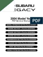 Subaru Legacy/Outback 2008 Owner's Manual | Seat Belt | Airbag