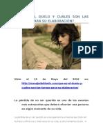 QUÉ ES EL DUELO Y CUÁLES SON LAS TAREAS PARA SU ELABORACIÓN.doc