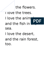 Poem Sentences