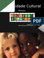 Diversidade Cultural - Pedro Pereira