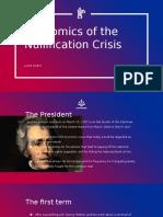 economics of the jacksonian presidency