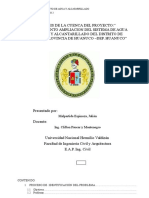 PARÁMETROS GEOMORFOLÓGICOS DE UNA CUENCA