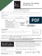 SOUL Order Form
