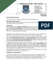 Ferdinand Postma High School Communication Letter 3/2016