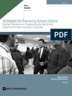 Strategies for Improving School Culture