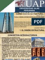 1. El Diseño Estructural
