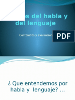Niveles Del Habla y Del Lenguaje