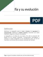Tipografía+y+su+evolución