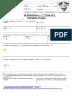 64356637 Lista de Exercicios Fc 1º Grau Com Resposta
