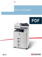 KYOCERA FS-C8520MFP MANUAL