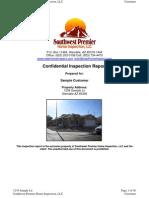 Sample Phoenix Home Inspection Report