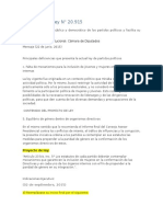 Discucion Congreso PP