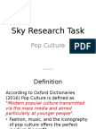 sky research task pop culture  2